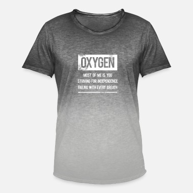 Oxygen Oxygen - oxygen - Men's Colour Gradient T-Shirt