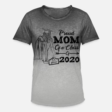 proud mom of a class 2020 - Men's Colour Gradient T-Shirt