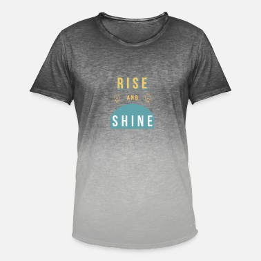 Rise Rise and Shine - Men's Colour Gradient T-Shirt
