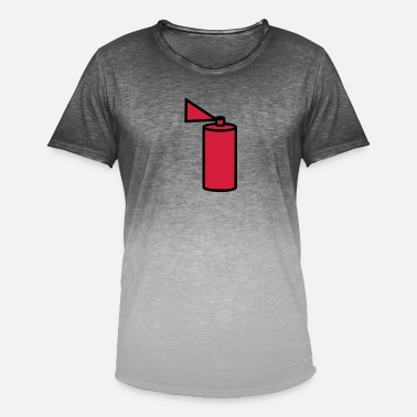 Spray Can spray can - Men's Colour Gradient T-Shirt