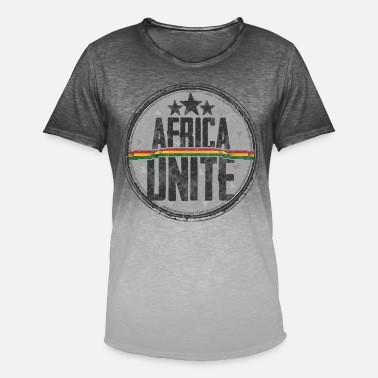 Ska reggae afrika forene - T-shirt i colour-block-optik mænd