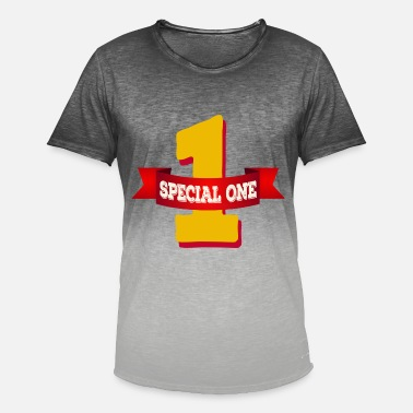 Special Number Special One - The special number one - Men's Colour Gradient T-Shirt