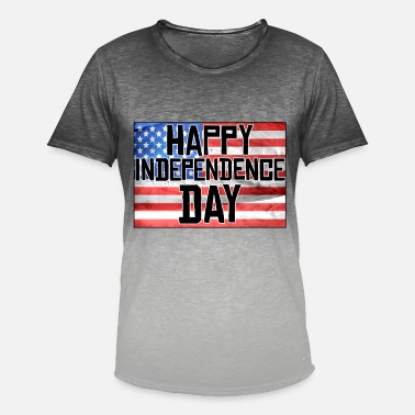 Independence Day Independence Day 4 juillet Independence Day - T-shirt dégradé Homme