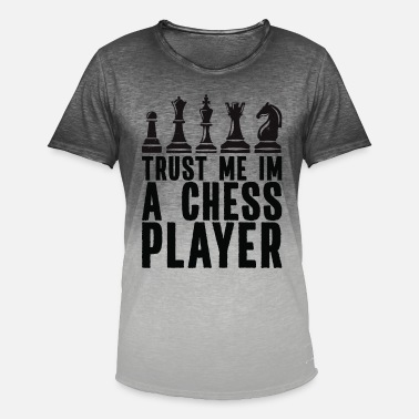 Checkerboard Chess - I Like Chess - Men's Colour Gradient T-Shirt