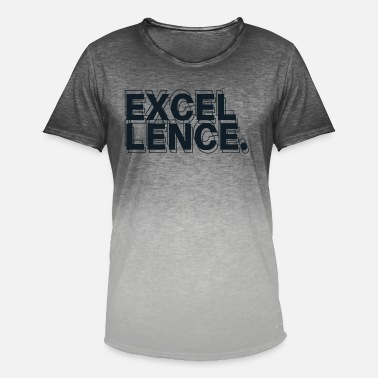 Excelent Excellence - Men's Colour Gradient T-Shirt