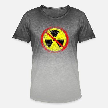 Castor Transport Anti nuclear power nuclear power plants nuclear waste nuclear energy - Men's Colour Gradient T-Shirt