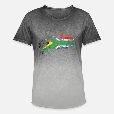 Africa South Africa horse - Men's Colour Gradient T-Shirt