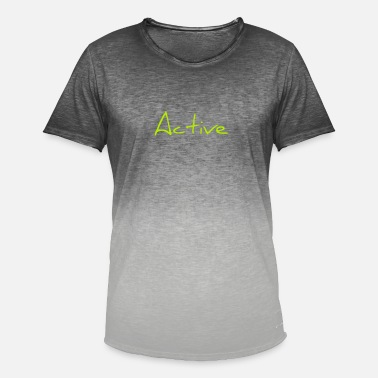 Activity Active - Men's Colour Gradient T-Shirt