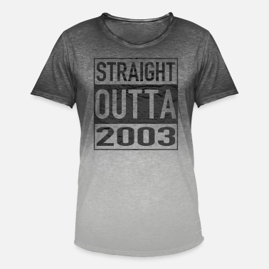 Album 2003 Straight Outta - Men's Colour Gradient T-Shirt