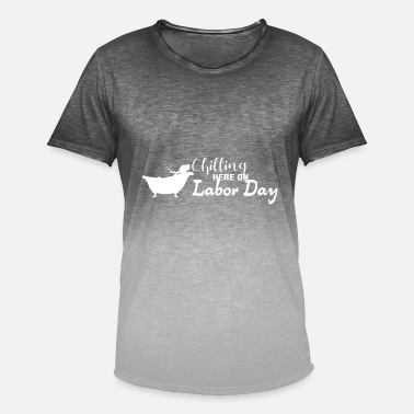 Labour Day Labor day - Labor Day - Men's Colour Gradient T-Shirt