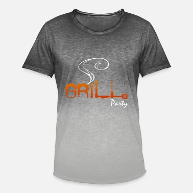 Utensil GRILLING UTENSILS - Men's Colour Gradient T-Shirt