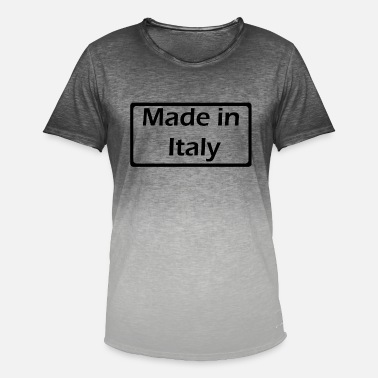 Little Italy Made in Italy - Mannen kleurverloop T-Shirt