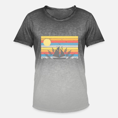 Yachting Holiday Sailing yachting holiday travel gift - Men's Colour Gradient T-Shirt