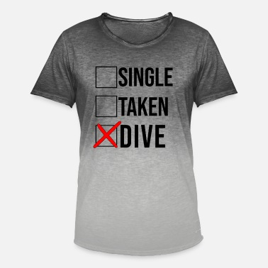 Dive Dive diving - Men's Colour Gradient T-Shirt