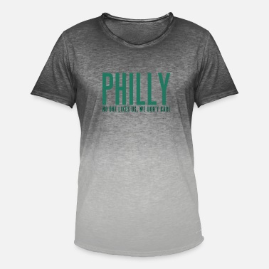 Philadelphia Eagles Philadelphia - Mannen kleurverloop T-Shirt