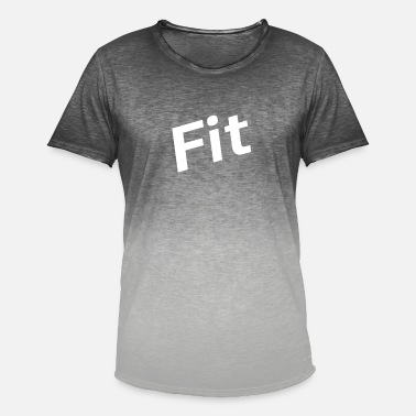 Fit Fit, Fitness, Workout,Fitness Trainer,Trainer,lauf - Männer Farbverlauf T-Shirt