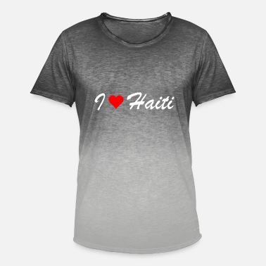 Haiti Haiti - Men's Colour Gradient T-Shirt