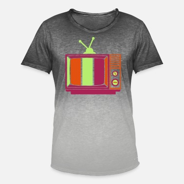Antenna old television antenna - Men's Colour Gradient T-Shirt