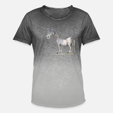 The Last Unicorn - Men's Colour Gradient T-Shirt