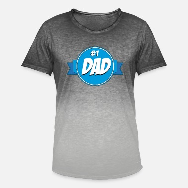 Daddy Of The Year Daddy of the year - Men's Colour Gradient T-Shirt