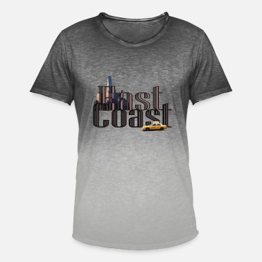 East Coast East coast - Men's Colour Gradient T-Shirt
