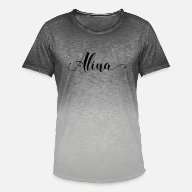 Alina alina - Men's Colour Gradient T-Shirt