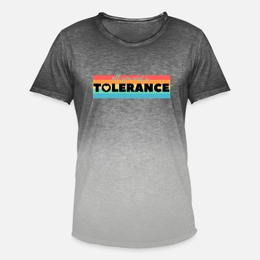 Tolerance Tolerance - Men's Colour Gradient T-Shirt