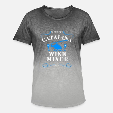 Catalina Catalina vinblander - T-shirt i colour-block-optik mænd