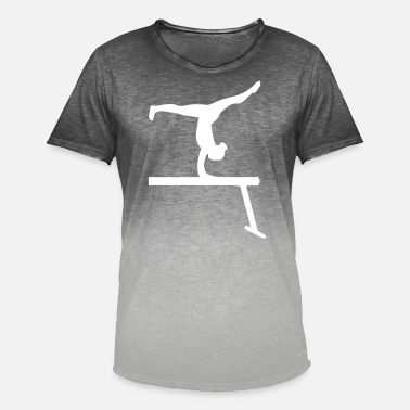 Balance Beam Balance beam - design - Men's Colour Gradient T-Shirt