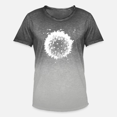 Dandelion - Men's Colour Gradient T-Shirt