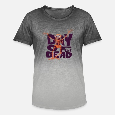 Day Of The Dead Day of the Dead - Männer Farbverlauf T-Shirt