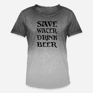 Save Water Save Water - Men's Colour Gradient T-Shirt