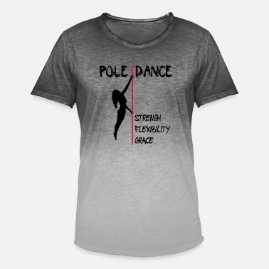 Dance Pole Dance - Camiseta degradada hombre
