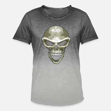 St23 st23 skull - Men's Colour Gradient T-Shirt