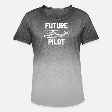 Future Pilot Pilot Future Pilot Gift idea - Men's Colour Gradient T-Shirt