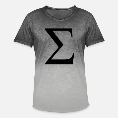 Sigma sigma greek - T-shirt dégradé Homme