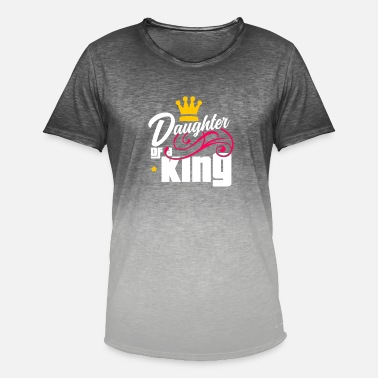 Father Daughter King - Gift - Men's Colour Gradient T-Shirt