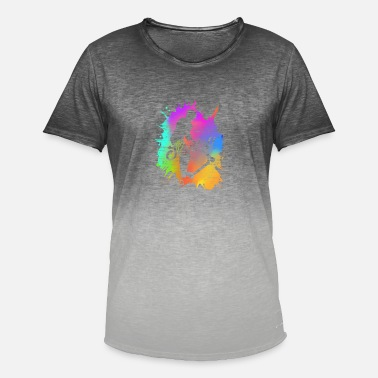 Stunt E-scooter stunt it kick scooter electric gift - Men's Colour Gradient T-Shirt