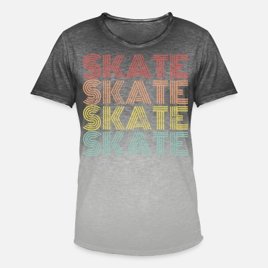Skatere Skate skate skate - T-shirt i colour-block-optik mænd