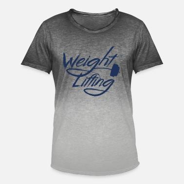 Weightlifter Weightlifter Weightlifter Weightlifter - Men's Colour Gradient T-Shirt
