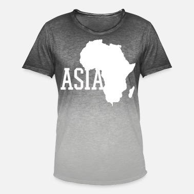Country Asien Asien Asien - T-shirt i colour-block-optik mænd