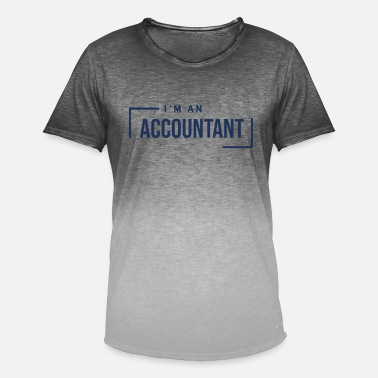 Accounting Accountant Accountant Accountant Accountant - Men's Colour Gradient T-Shirt