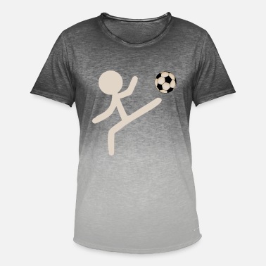 Stick Figure STICK FIGURE Soccer - Men's Colour Gradient T-Shirt