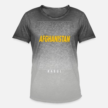 Kabul Kabul Kabul Kabul - T-shirt i colour-block-optik mænd