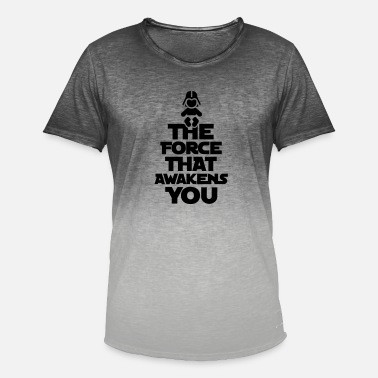 The Force Awakens The force that awakens you - T-shirt med färgtoning herr