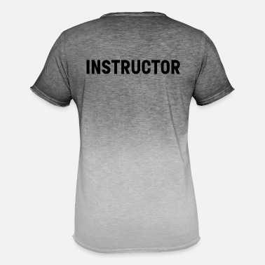 Instructor Instructor - Men's Colour Gradient T-Shirt