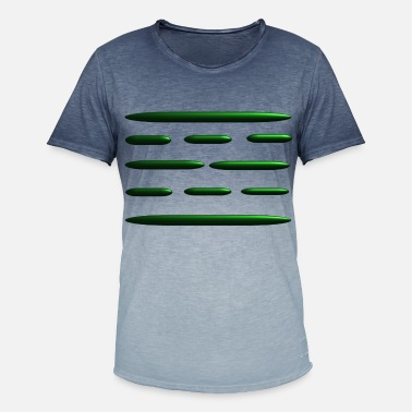 Ade Elektrosmog-neutralisator - Herre T-shirt i colour-block-optik