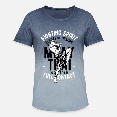 Fighting Spirit Fighting Spirit L'art de combattre - T-shirt dégradé Homme