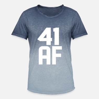 41 Years Old 41 AF Years Old - Men's T-Shirt with colour gradients