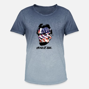 Abraham Lincoln Abraham Lincoln - Men's T-Shirt with colour gradients